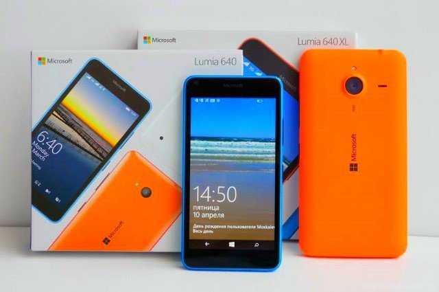Смартфон Microsoft launches Lumia 640