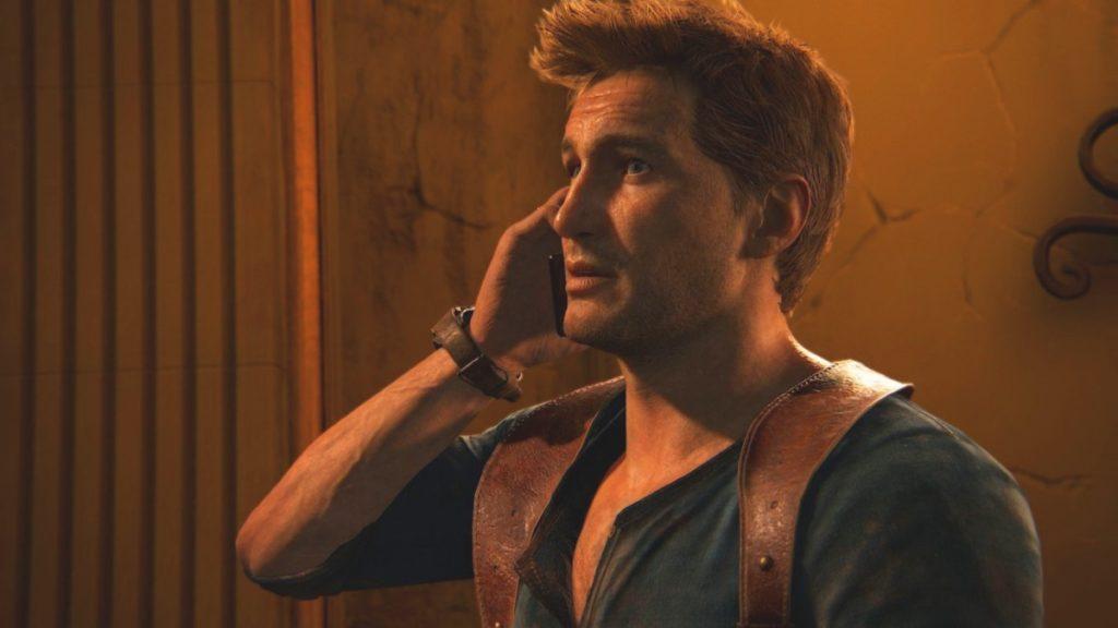 Нейтан Дрейк в игре Uncharted 4: A Thief's End