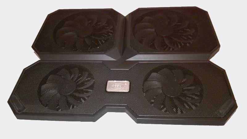 Охлаждающая подставка для ноутбука с активным охлаждением