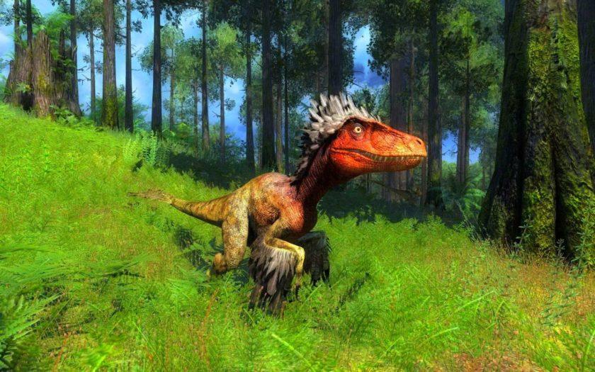 Динозавр из игры thehunter-primal