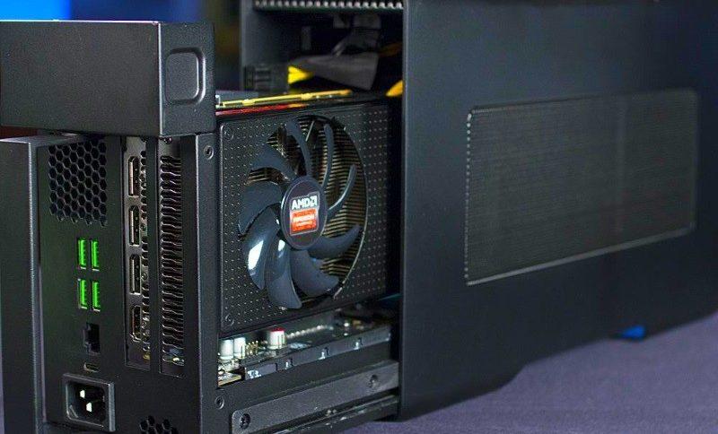AMD планирует стандартизировать внешние видеокарты