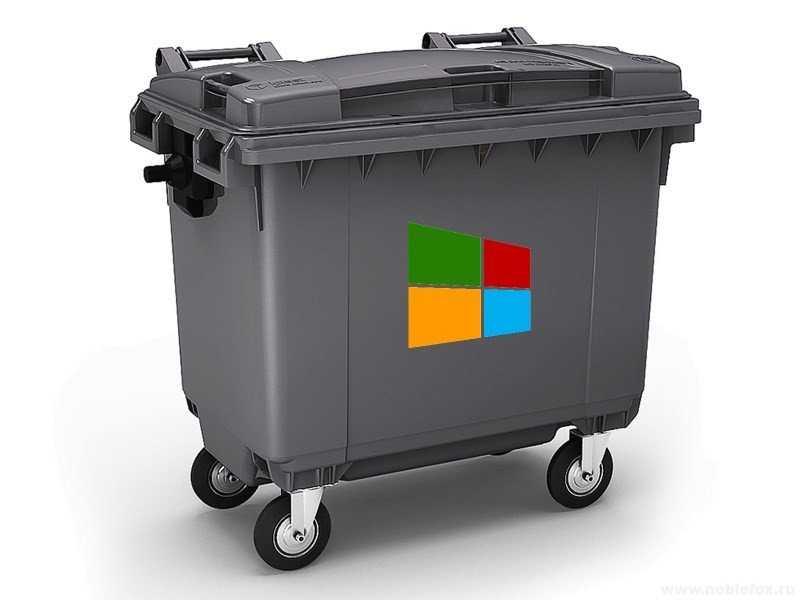 Как быстро избавиться от мусора в Windows