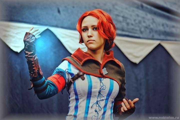 Трисс Мэригольд из The Witcher