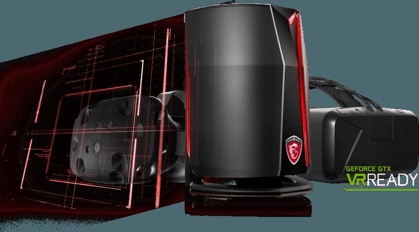 Мощный игровой компьютер MSI Vortex представлен на CES 2016