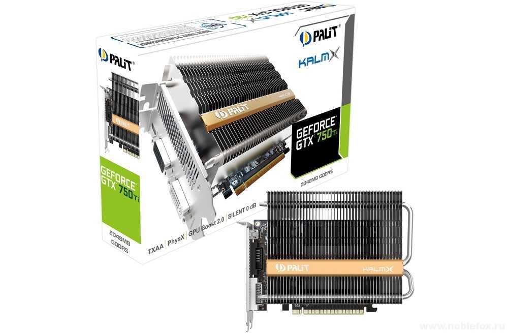 Palit Geforce GTX 750 Ti Kalm X