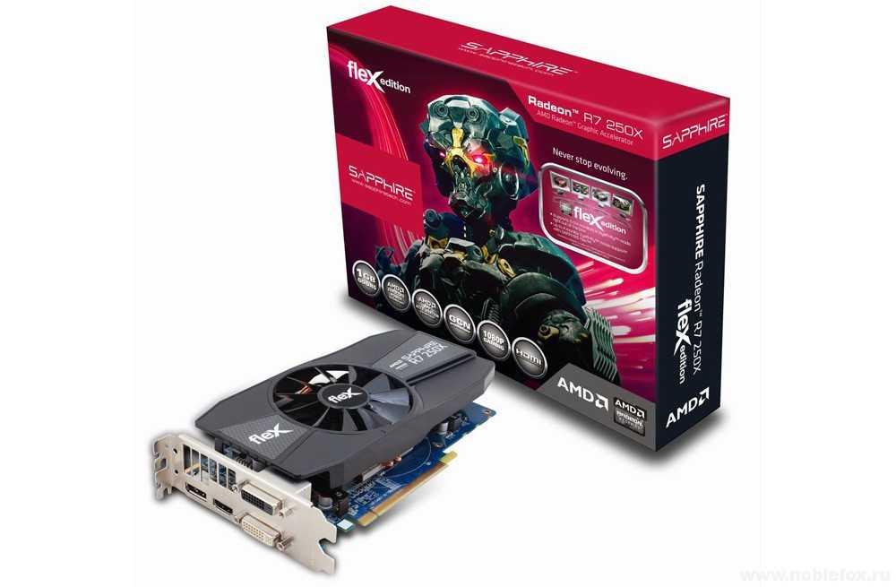 Sapphire Radeon R7 250X Flex 1GB GDDR5