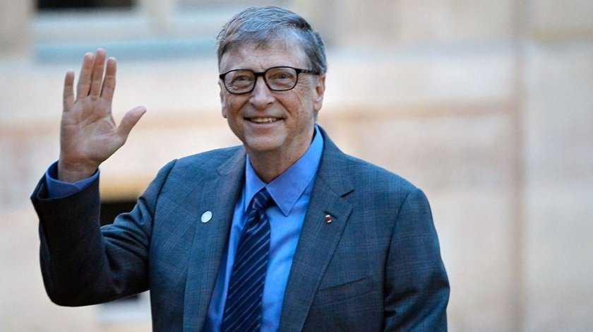 Билл Гейтс - создатель компании Microsoft