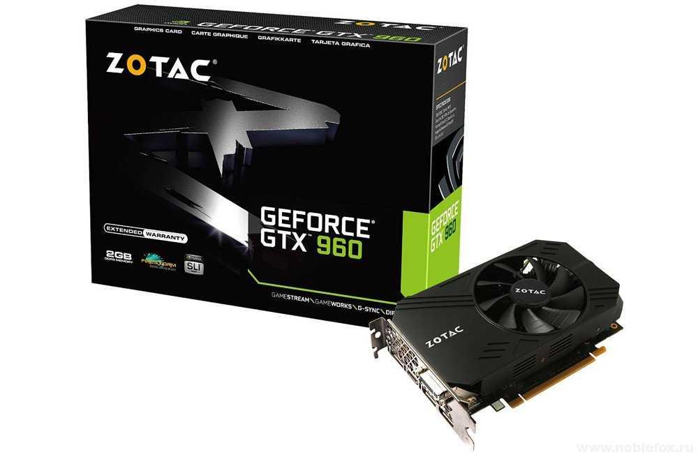 Zotac Geforce GTX 960 2GB GDDR5