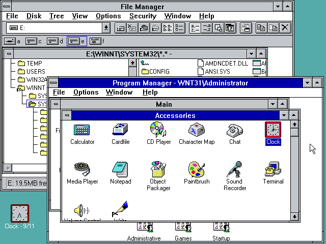 Windows NT 3