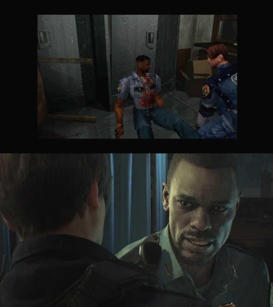 Сравнение Resident Evil 2 раньше и сейчас