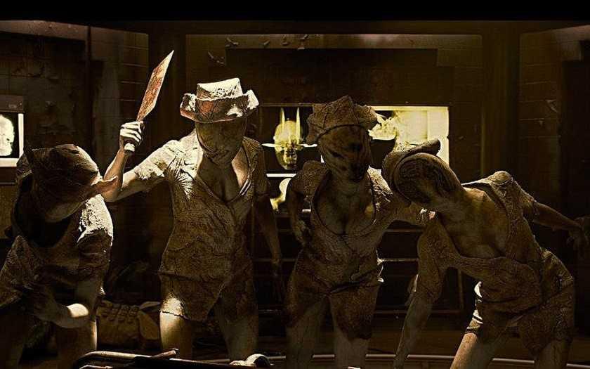 Темные медсестры из Silent Hill