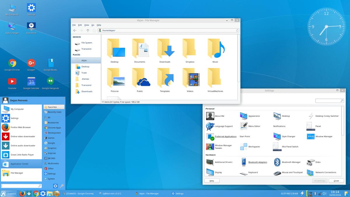 Скачать Chalet OS оригинальный образ
