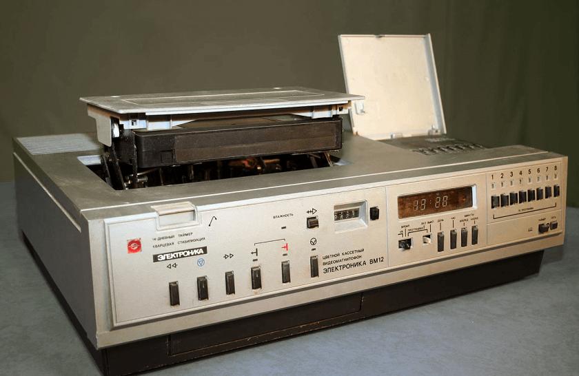 Видеомагнитофон ВМ-12