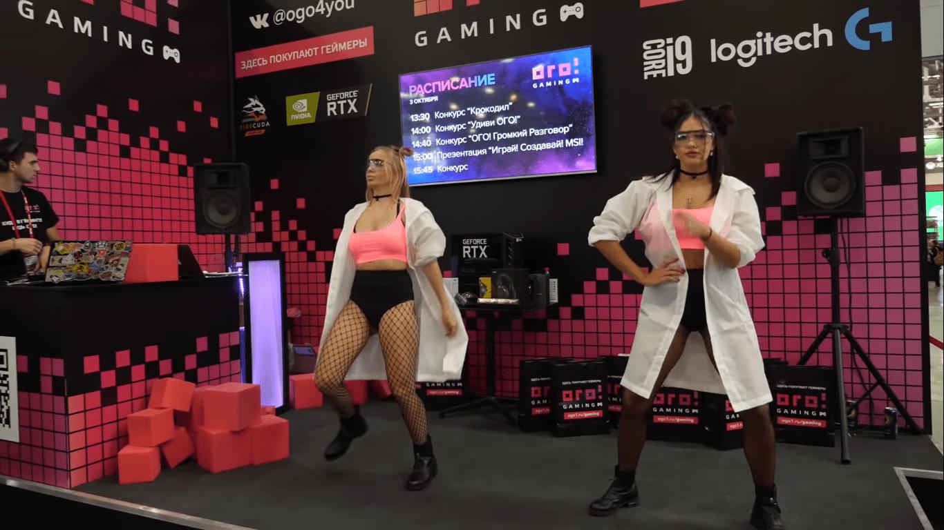 ИгроМир 2019 - самые красивые девушки!
