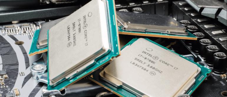 Лучшие процессоры Intel Март 2020 года