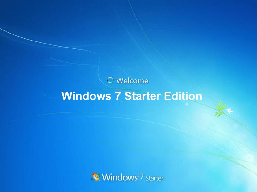 Скачать Windows 7 Starter Edition оригинальный образ